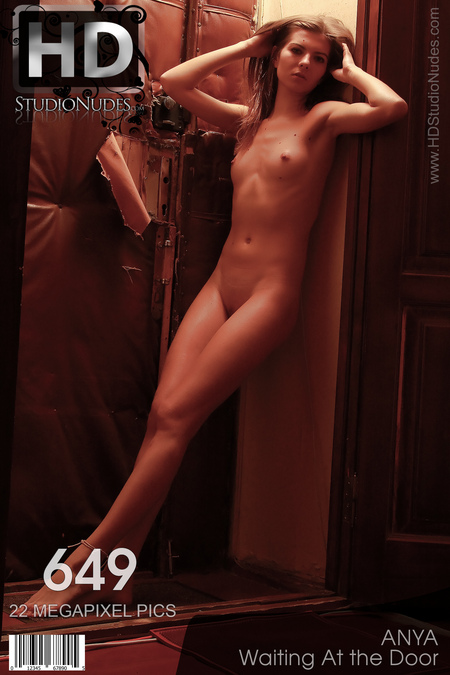 Anya in Waiting At the Door - High Res Pictorial!l!