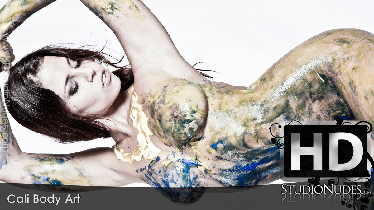Cali in Cali Body Paint - Play FREE Preview Video!