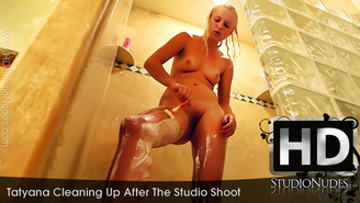 FREE PREVIEW Tatyana in Cleaning Up After The Studio Shoot