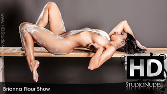 FREE PREVIEW Brianna in Flour Show